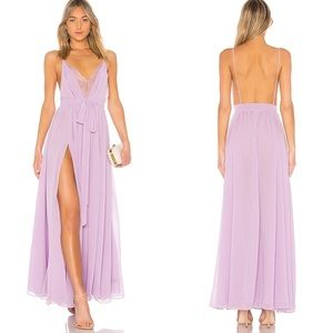 NWT Michael Costello x Revolve Justin Gown